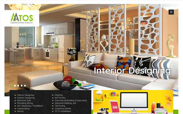 aatos | Interior Web Design