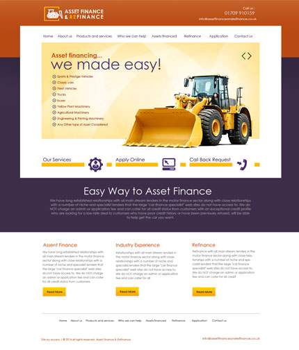 Auto Finance Web Development