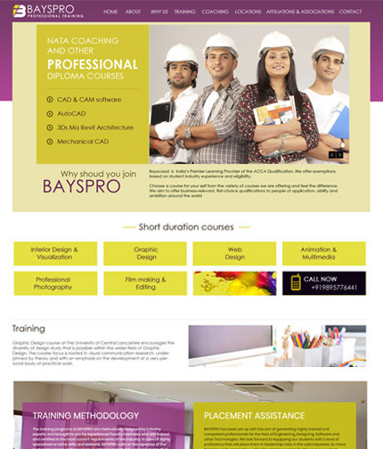 Career Consulting Website Design