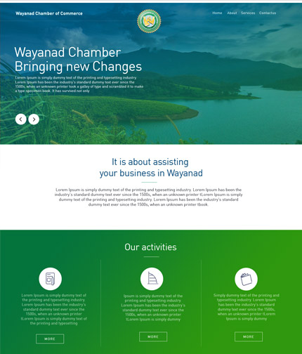 Chamber of Commerce Wayanad