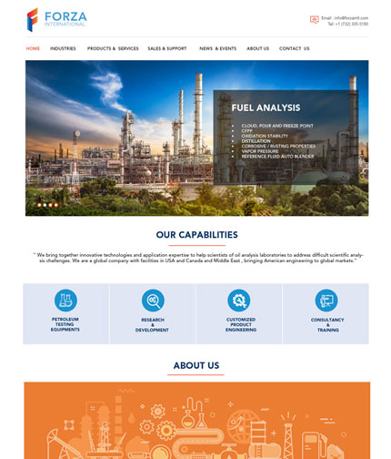 Oil & Gas Website